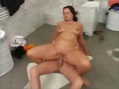 Plumber Takes Care Of MILF Pussy