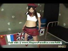 Hikari aota sweet asian schoolgirl
