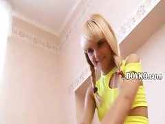Beautiful petite blonde Loly from france