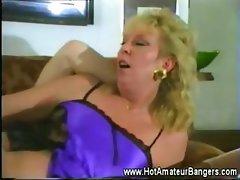Mature amateur wife fucked balls deep