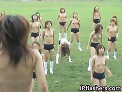 Free jav of Asian half naked academy part4