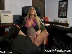 Beautiful Bossy Office Bitch Nikki Benz - Part 1