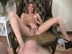 French girl Tanya masturbates