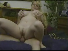 Chubby mature Heather gets nailed