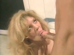 Slutty Kiki Daire deepthroats gigantic cock and gets licked