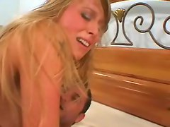Hot Mandy Star getting rammed in her twat in her twat and jizz on her feet