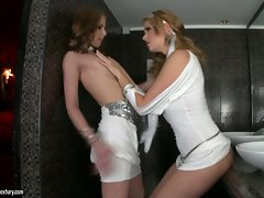 Gitta Blond gets fucked by her girlfriend and gets her wet pussy licked