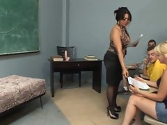 Teacher Mika Tan gives a cock pleasing lesson