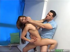 OyeLoca Feckled latina Lucy Martinez fucked facialized