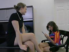 Dani Daniels does naughty things with lesbian partner Shyla Jennings