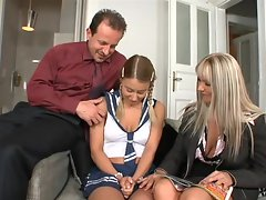 Winnie brings in Sexy Nikky Thorne and fucks her with her husband
