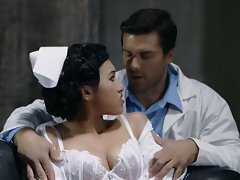 Nurse Jayden Lee is analled by a doctor