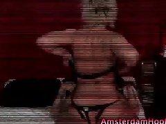 Amsterdam tourist hot hoe