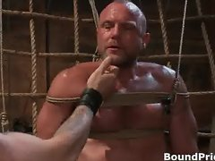 Very extreme gay BDSM free porn clips part4