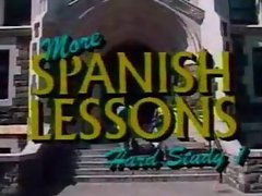 more spanish lessons, hard studys