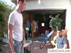 Hot gay fucking and sucking in public outincrowd part1