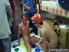 Fresh new college guys get gay hazed part3