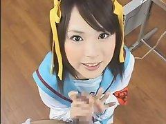 Hiharu Suzumiya's Super Ultimate Hand Job