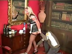 Lucy bondage maid