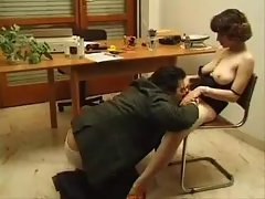 Hairy girl does anal and receives facial