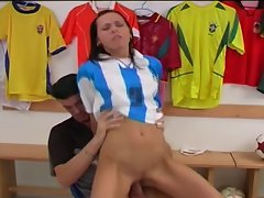 Sonia Red Soccer Girl