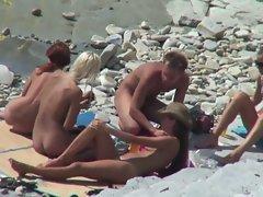 HidCams rus BEACH COUPLE FUCK 16 - NV