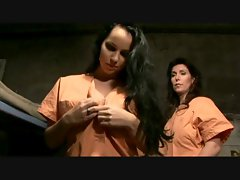 Laura Lion- Lezzy 3some In Jail