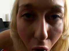 Teen screams as a large dick goes into her tight pussy