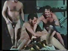 Vanessa Del Rio&amp,#039,s 1st gangbang scene