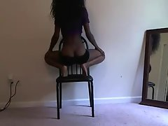 Acrobatic Sexy Ass Black Teen Trains 4 Future (PG) - Ameman