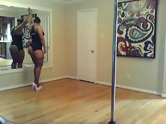 Maliah Michel: Sexy Ass Groupie Stripper Rehearsal - Ameman