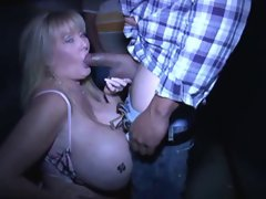 Kayla- White Mama At Porn Theater