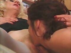 DIANA &amp, SASHA - lesbians grannies