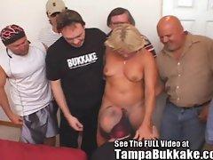 Jackie&amp,#039,s Squirting 3 Hole Creampie Tampa Bukkake Gang Bang