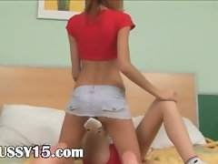 Russian gaunt girlfriends having fun