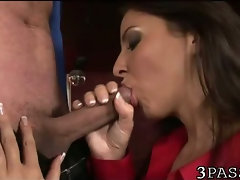 Gal in nylons ass fucked