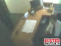 Boss caught fucking his secretary