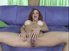 MILF Shannon Kelly enjoying herself while her pussy drips out cum