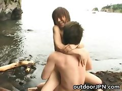 Arisa Kanno hot Asian babe gets hot