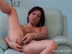 Pussy satisfaction with naked lusty tramp