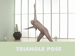 Sara Underwood bare yoga