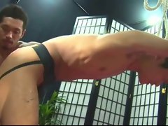 Sensual japanese stroking & rectal banging