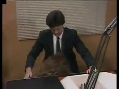 she gets banged on her bosses desk