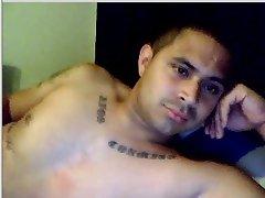 Caught Miami Latin Tatt'd Jerkoff Spy