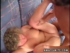 Solid amateur dirty wife homemade banging with cumshot