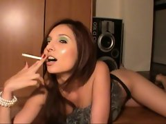 Stroke as I smoke jerk off instruction game