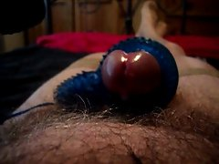 Vibro orgasm in stockings.