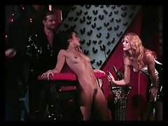 Bondage girl teased and seduced