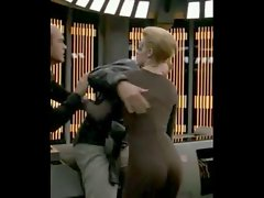 Jeri Ryan Star Trek Naughty butt compilation MQ