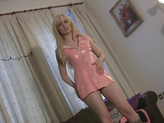English Slag Nurse Talks Lewd JOI